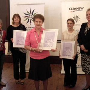 Murray Region NSW Volunteer of the Year Award 2014