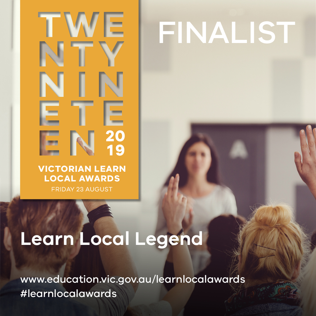 Learn Local Legend Finalist